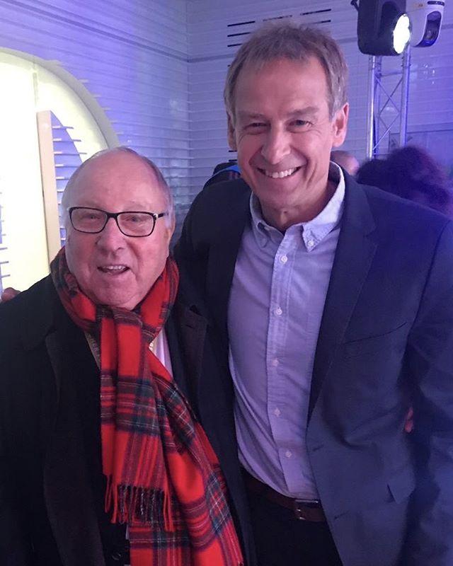 Und mit meinem Idol Uwe Seeler!!
