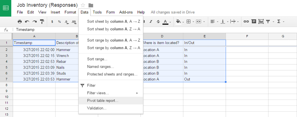 how to move items into your google drive