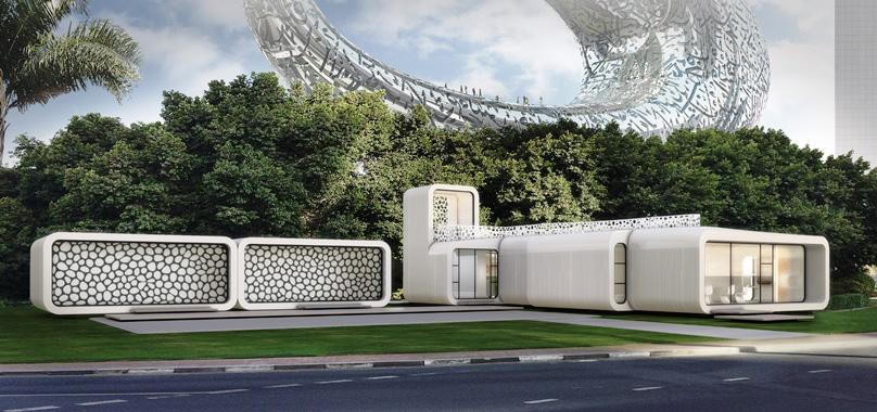Dubai's 3D Printed Office