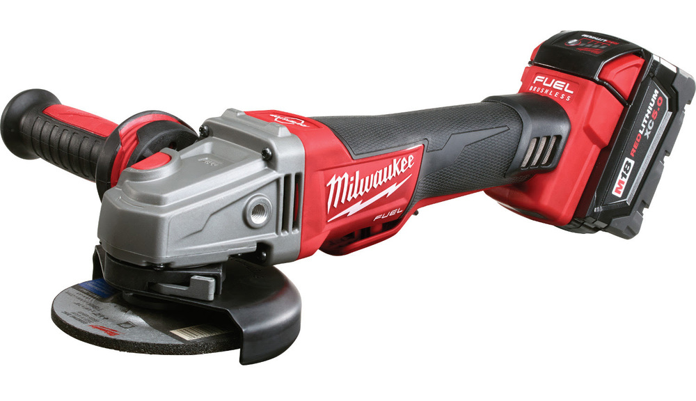 Milwaukee M18 Cordless Braking Grinder