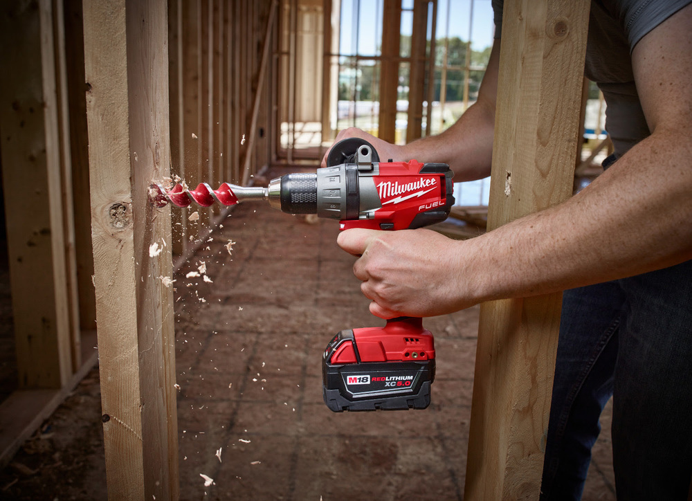 milwaukee m18 fuel drill