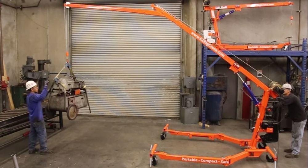 EZ rig crane