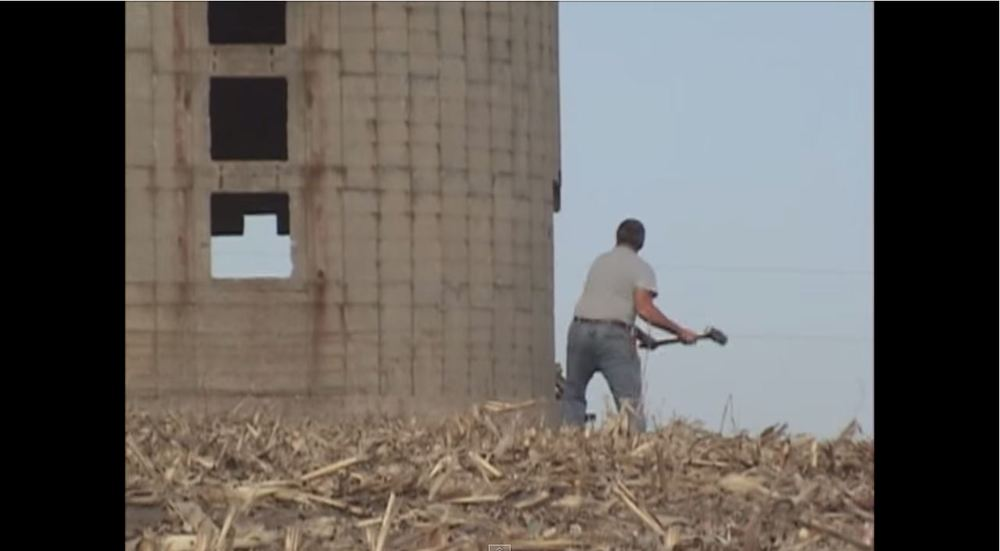 silo demolition fail