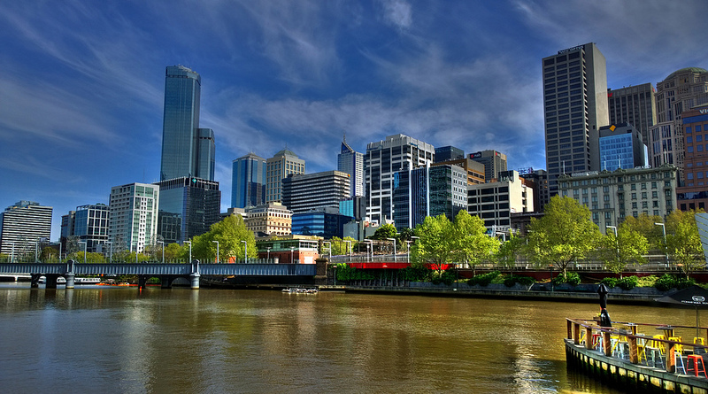Melbourne, Australia skyline.  Photo by Steve Davidson. CC BY 2.0