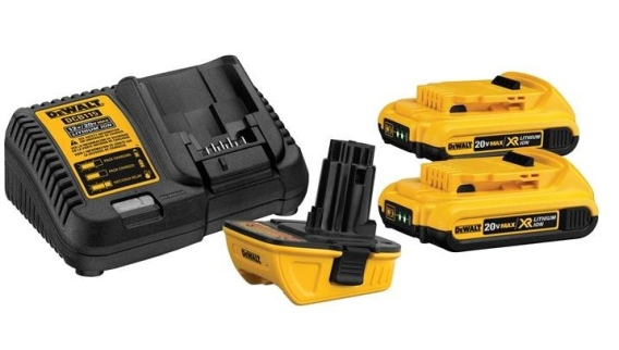 Use a 20V Battery on Your 18V DeWalt Tools With This Handy ... De Walt Sawzall Wiring Diagram on