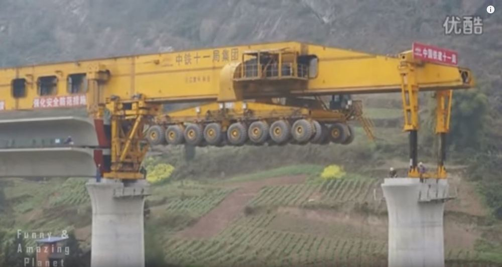 chinese girder machine