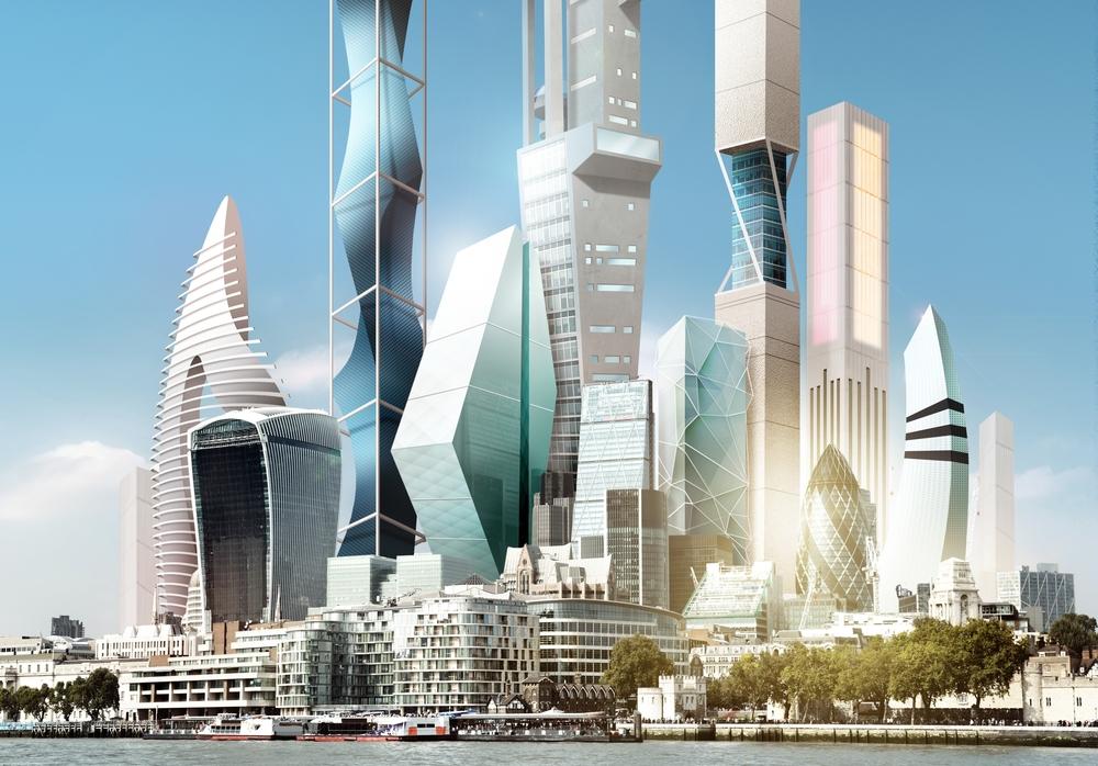 2045 London Skyline