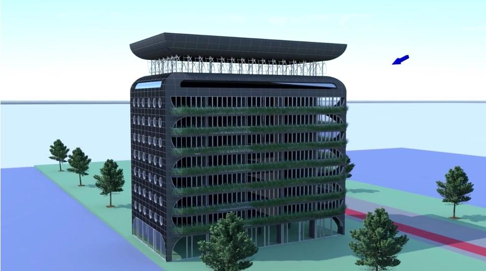 zero energy hotel amsterdam