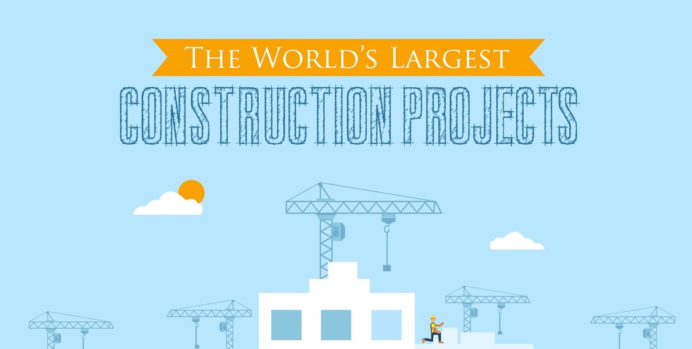 worlds largest construction projects