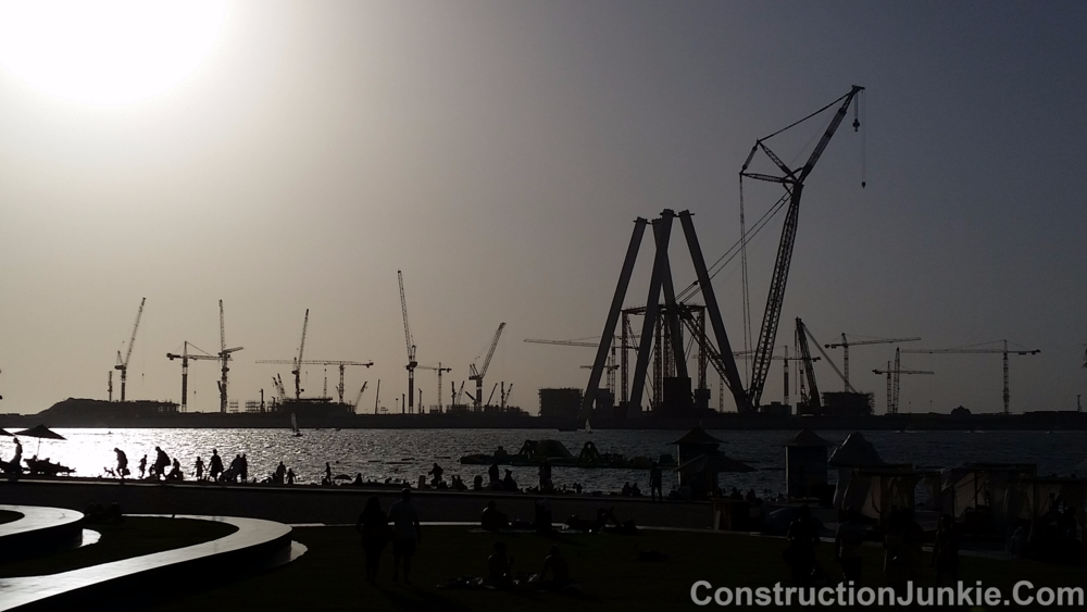 Dubai Eye under construction