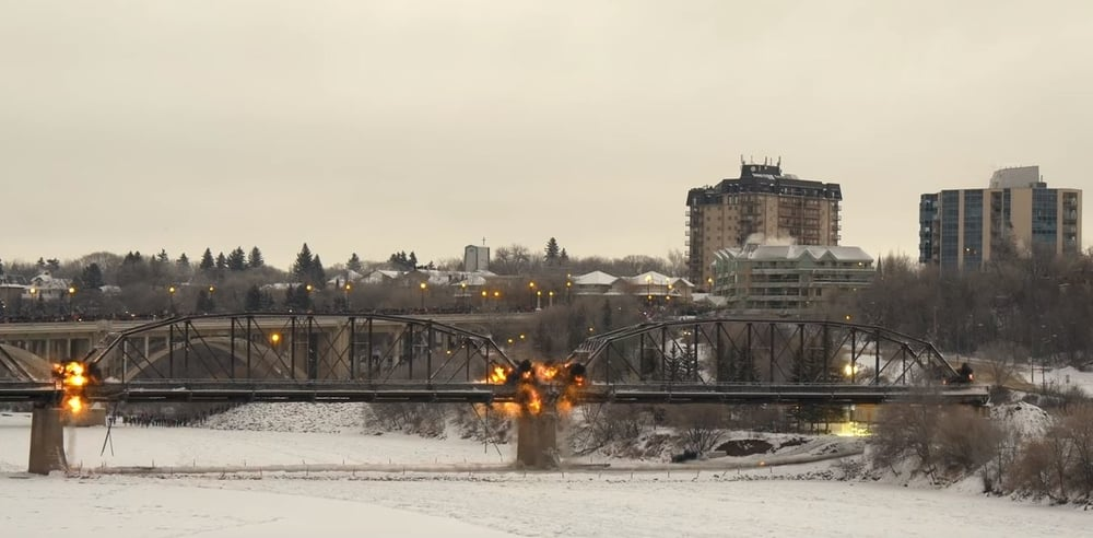saskatoon bridge demolition