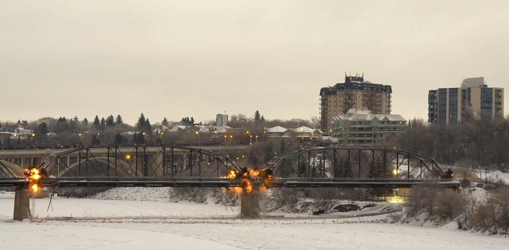 saskatoon bridge demolition
