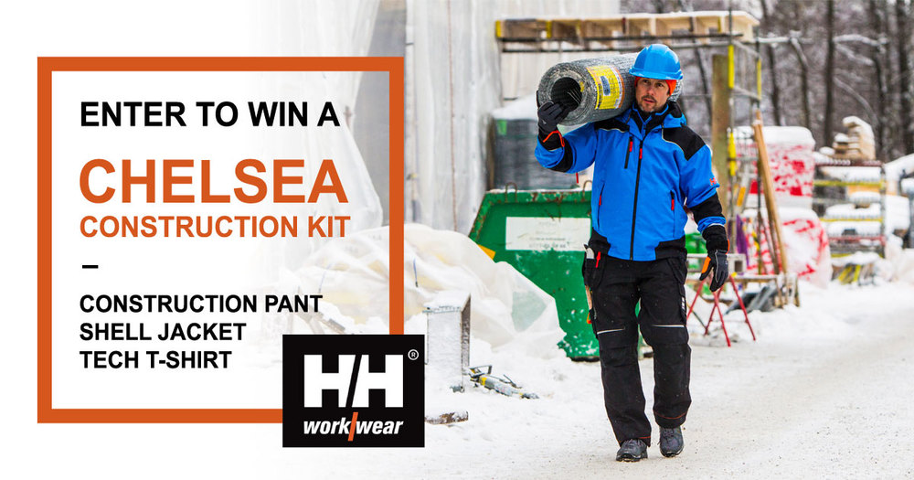 helly hansen construction gear