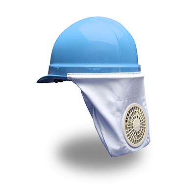 Zippkool hard hat fan