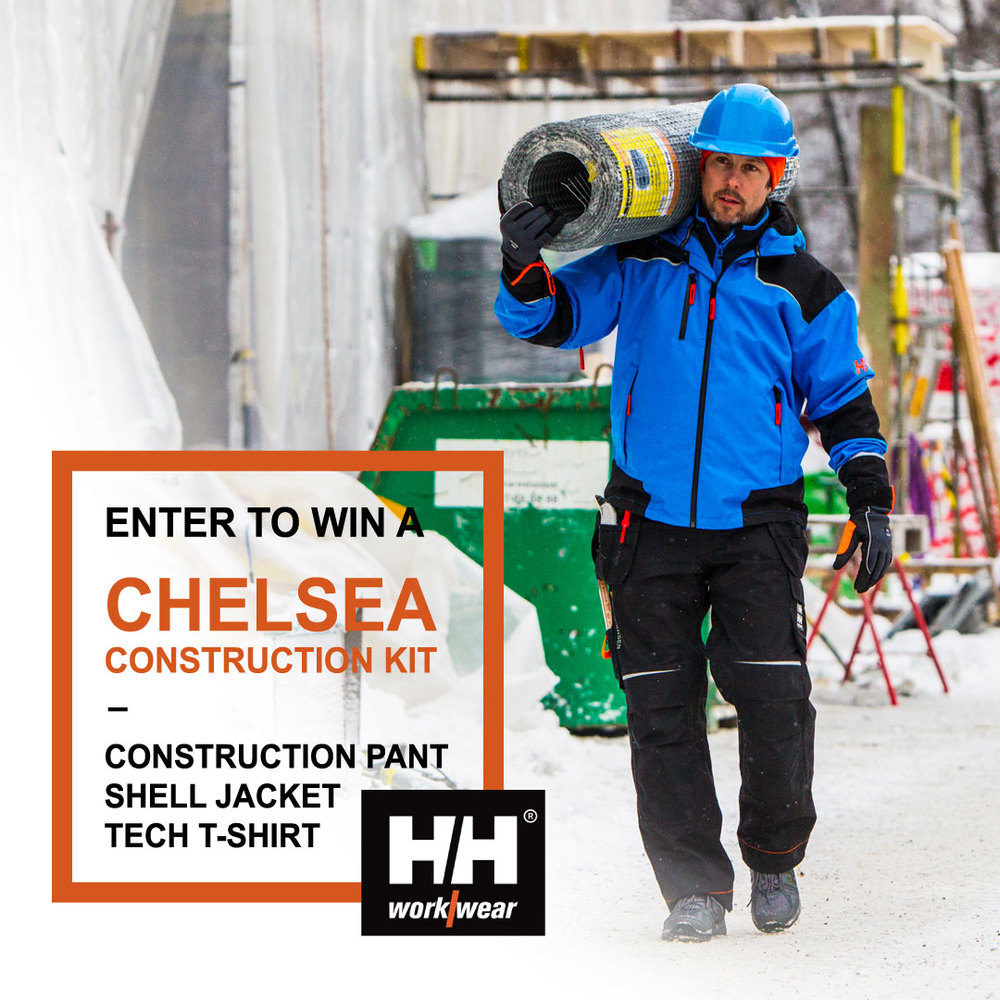 Click the image above for details about our Helly Hansen workwear giveaway!