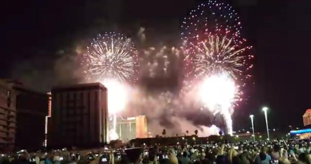 riviera casino demolition 2016