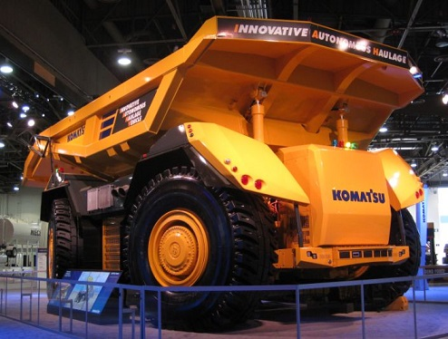 photo courtesy of Komatsu