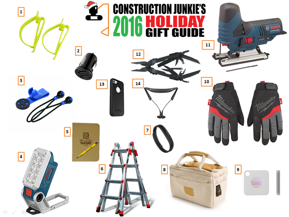 Great Gifts For 2016 Part - 33: Have No Fear, Construction Junkieu0027s Got You Covered With More Great Gift  Ideas For The Hard Working Person In Your Life.