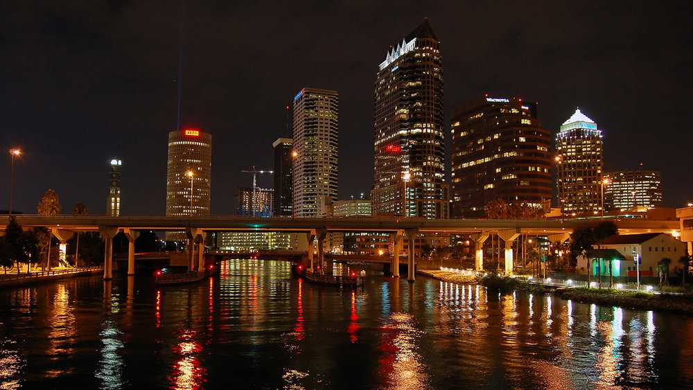 Tampa Bay Skyline by  Alexey Vinokurov ,  CC BY 2.0