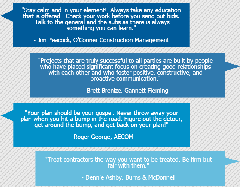 tips for construction managers