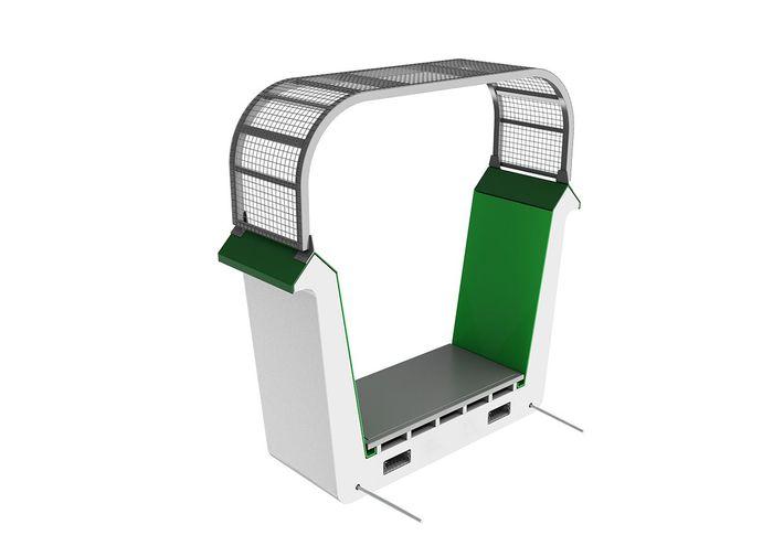 Arup's plastic modular bridge concept