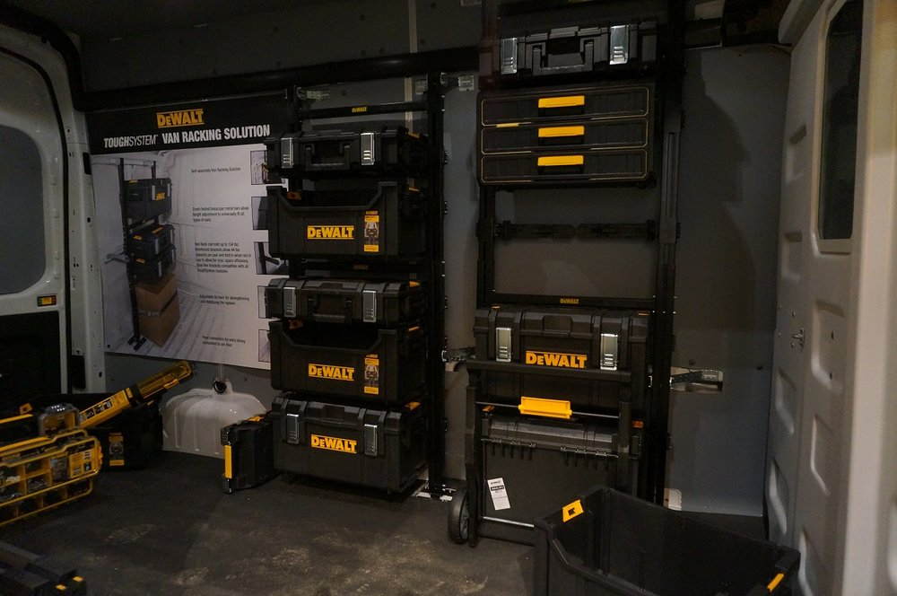 DeWalt Van Racking Storage