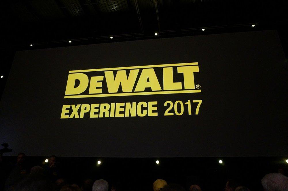 DeWalt Experience 2017