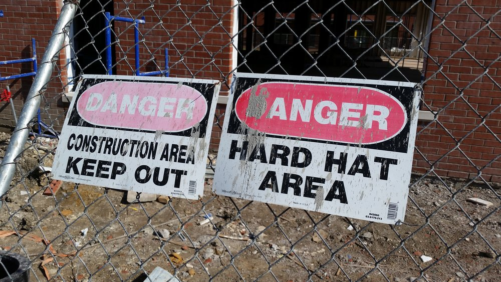 danger construction