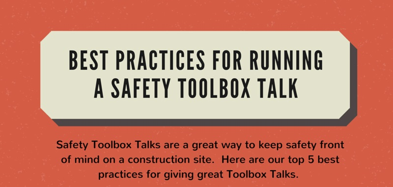 tips for leading toolbox talk