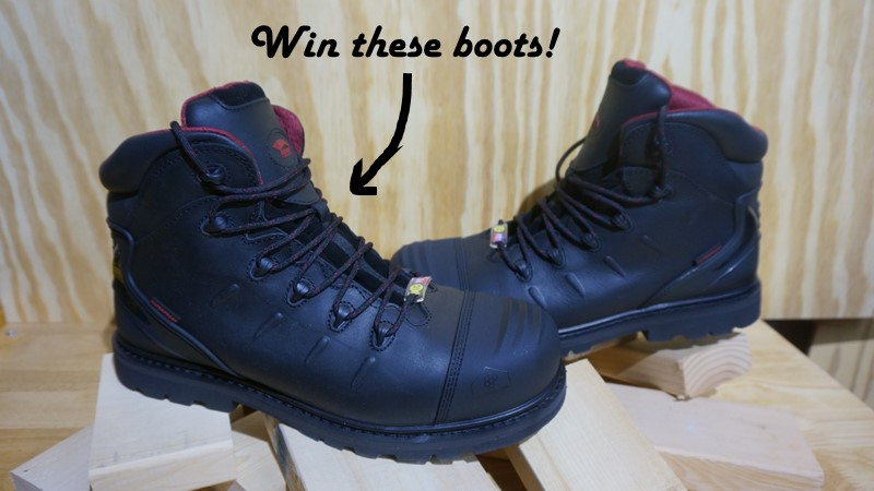 Avenger A7547 Work Boots Giveaway