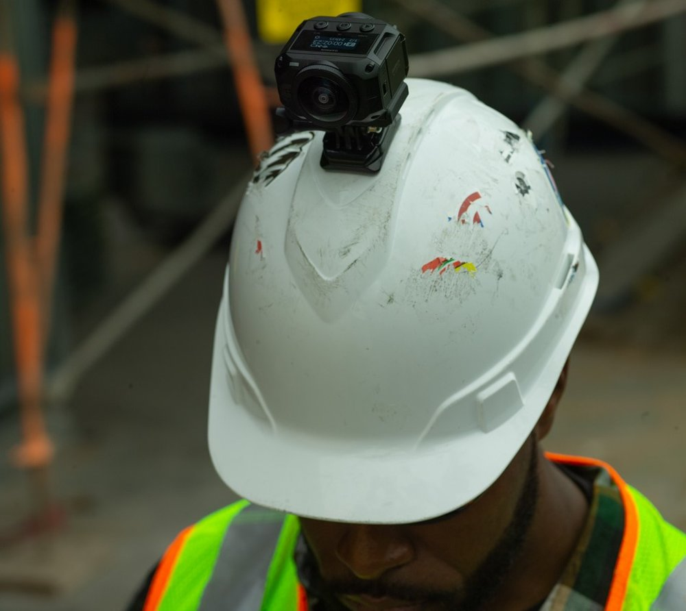 360 Degree Camera Hard Hat Attachment
