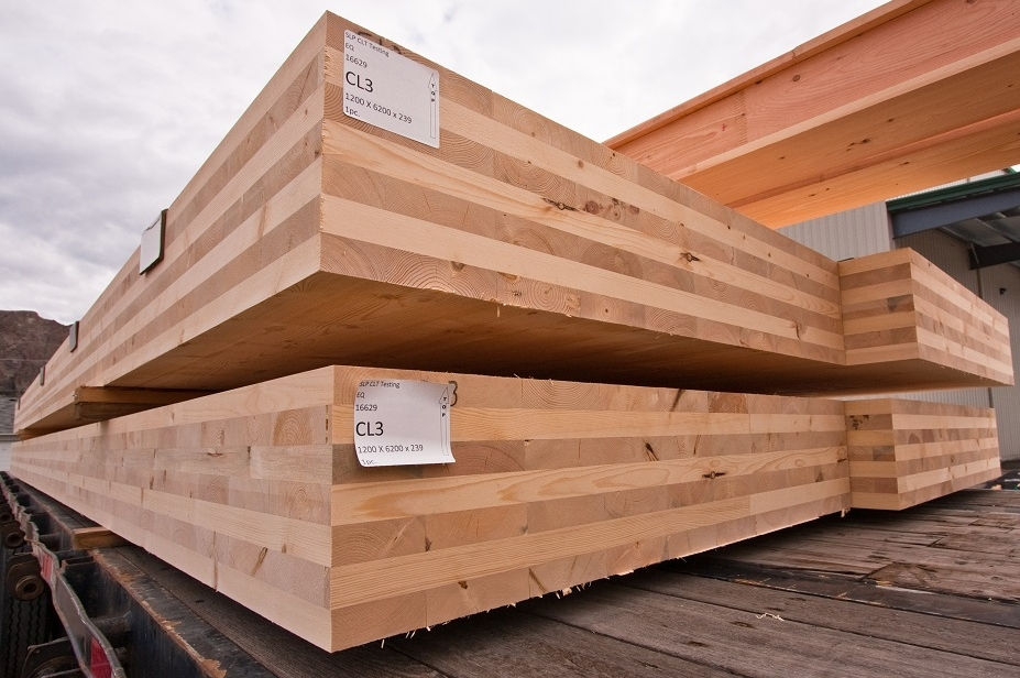 Cross Laminated Timber via the US Department of Agriculture