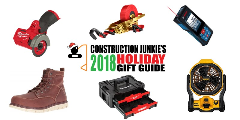 ultimate construction holiday gift guide 2018