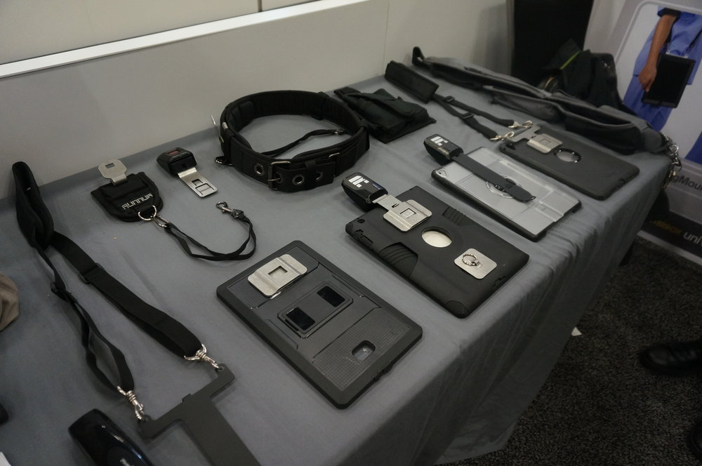 A variety of different tablet holders that Runnur offers