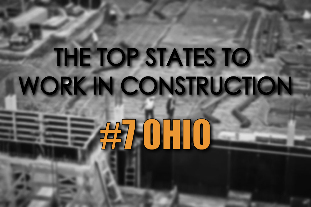 Ohio top states to work in construction