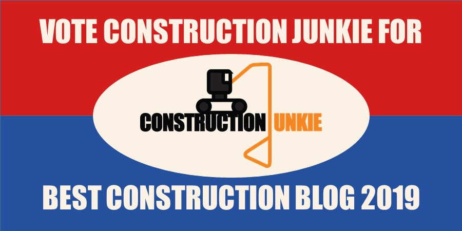 construction junkie best blog competition 2019