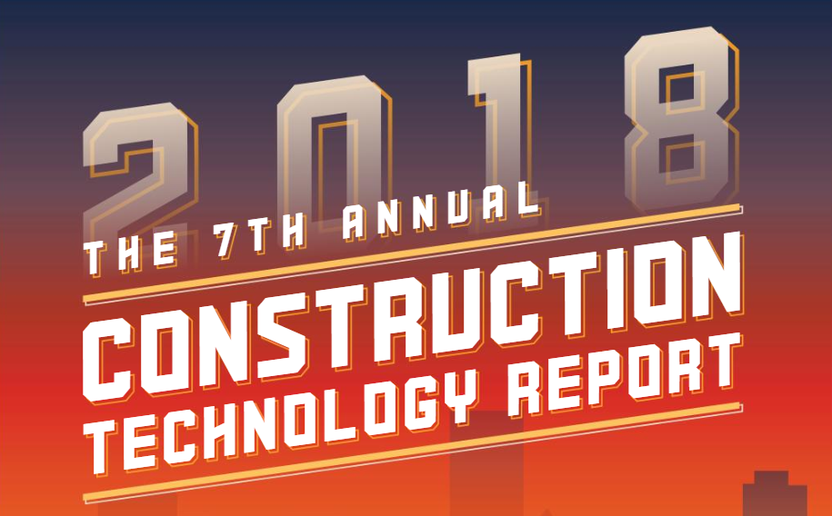 via the 2018 Construction Technology Report from JBKnowledge
