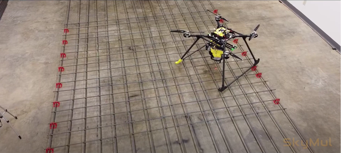 [VIDEO] SkyTy is the Drone That Ties Rebar From the Sky