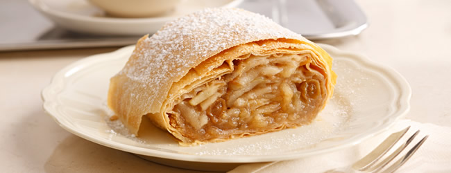 Sweets and Desserts  Apfelstrudel & more