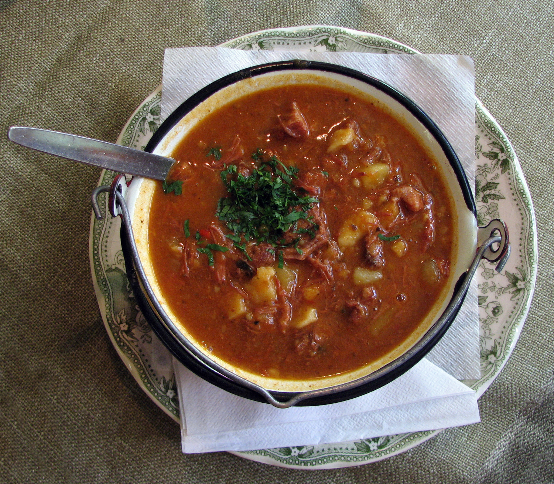 Gulaschsuppe Goulash Soup Taste Of Austria