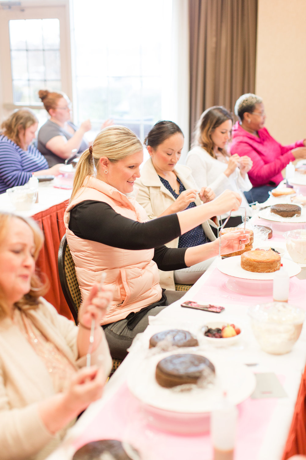 Sorby Sweets Cake Class Students