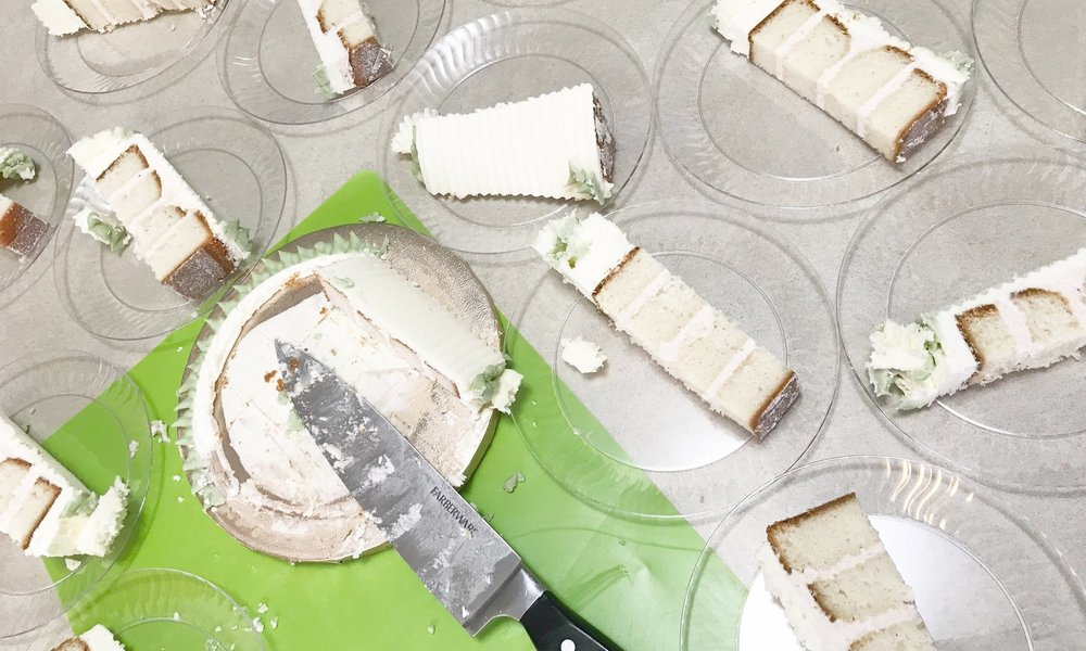 """And just like that, all your guests will be wow'd! No more messy """"pie slices!"""