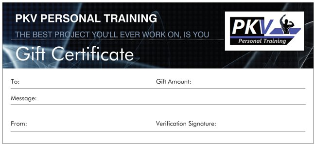 Gift Voucher Pkv.png  Personal Training Gift Certificate Template