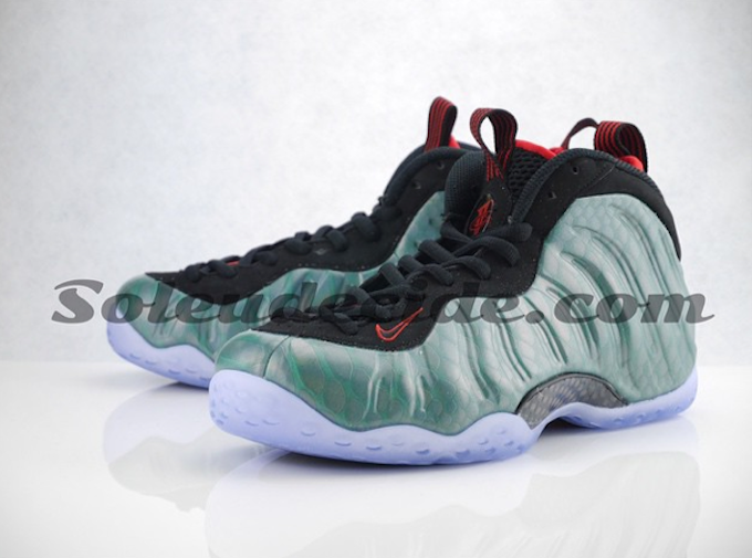 Nike Air Foamposite OneBlack Electric GreenNew Images ...