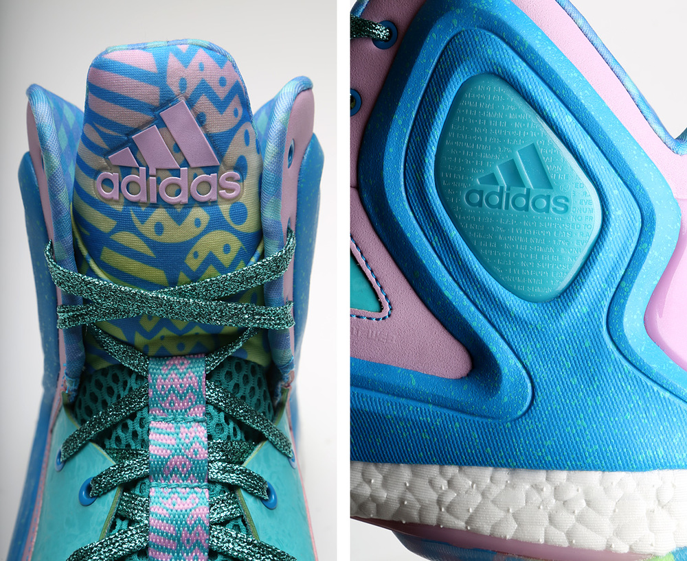 buy popular 49555 9fa2a A Closer Look at the Adidas Basketball 2015 Easter Signature