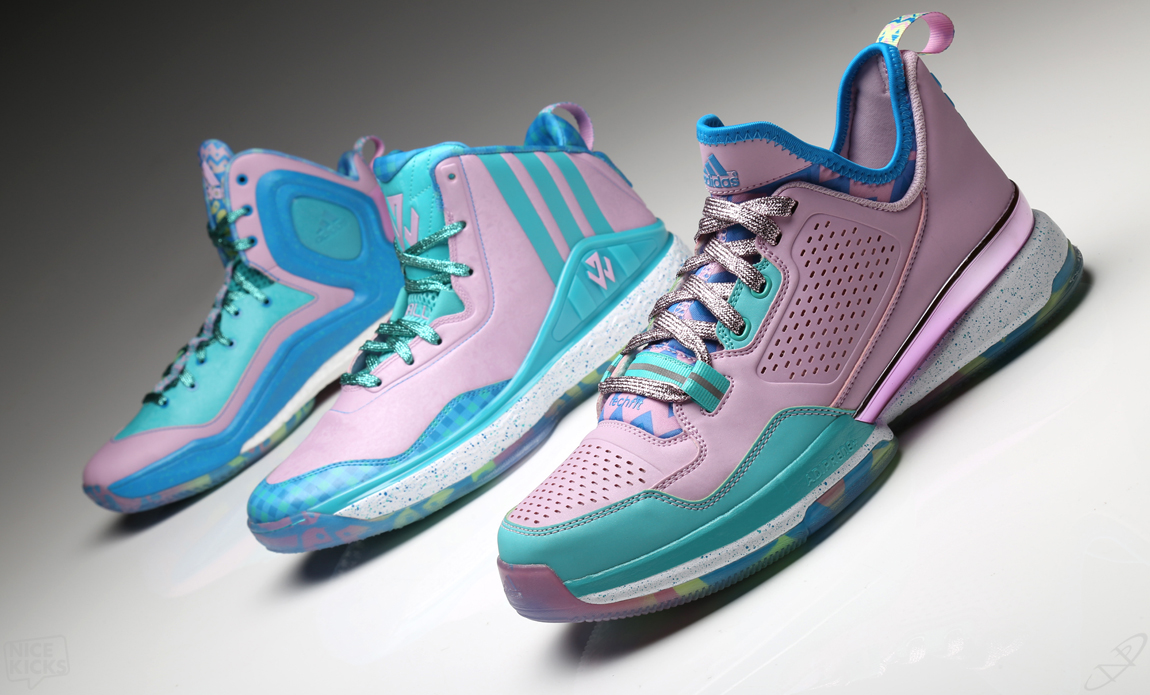 uk availability 9cfcf 365b6 A Closer Look at the Adidas Basketball 2015 Easter Signature Collection —  The Sole Truth