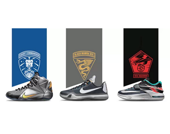 low priced 3460d c3391 Nike Basketball readies The Flight Collection which features mythological  themed Nike KD 7, LeBron 12 and Kobe X. The Jordan Brand also is set to  release ...