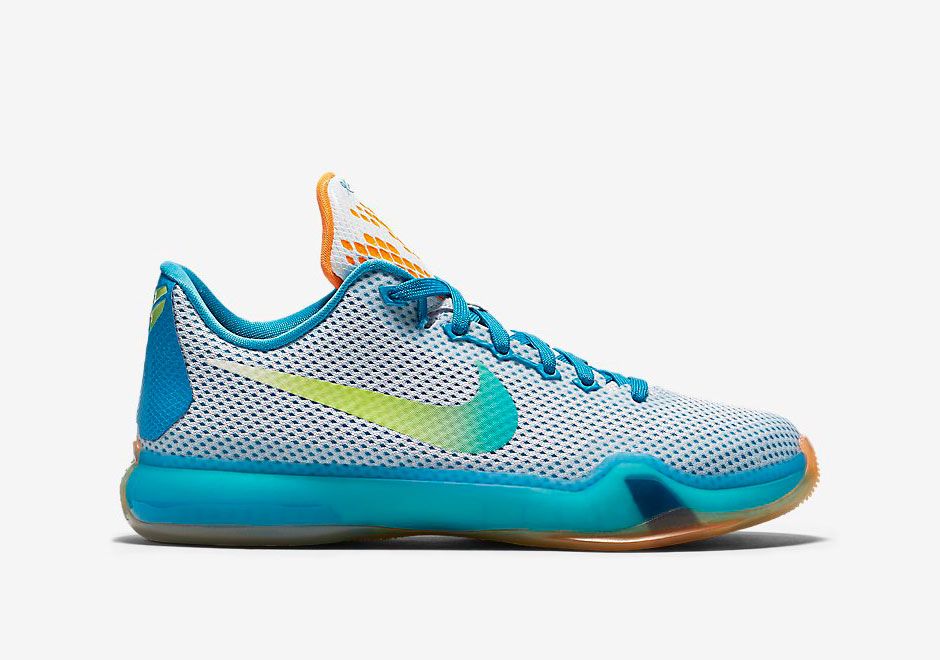 "on sale 081dc 4dd7d ... NIKE KOBE 10 GS ""HIGH DIVE"" Release Reminder Nike Kobe X ..."
