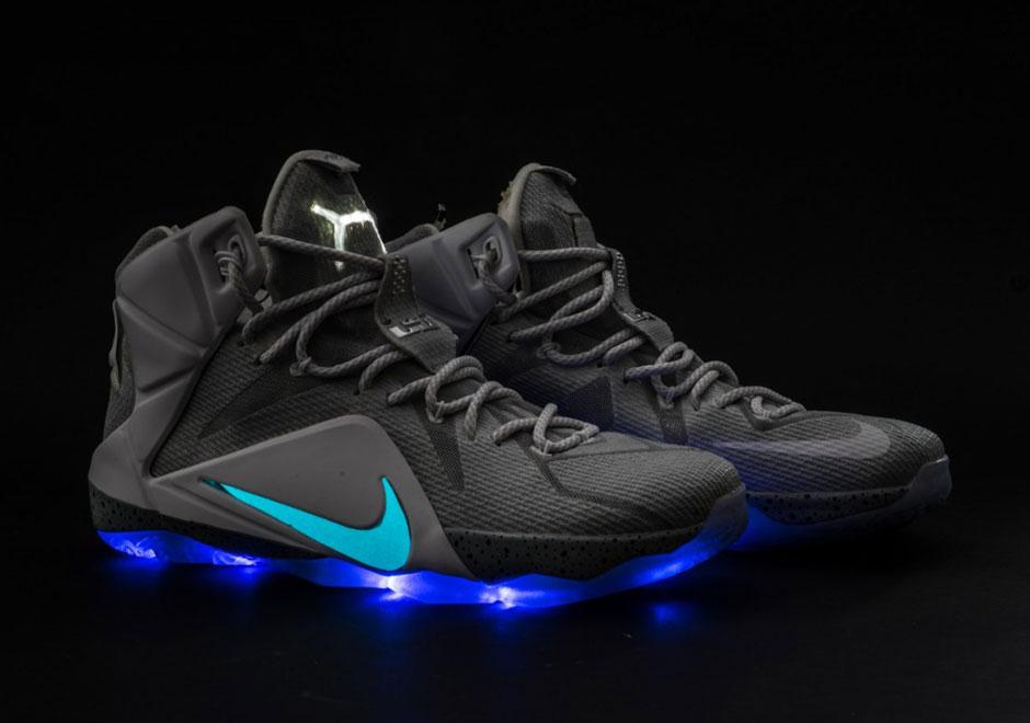 "a0f69852aa5 Nike LeBron 12 ""MAG"" Custom — The Sole Truth"