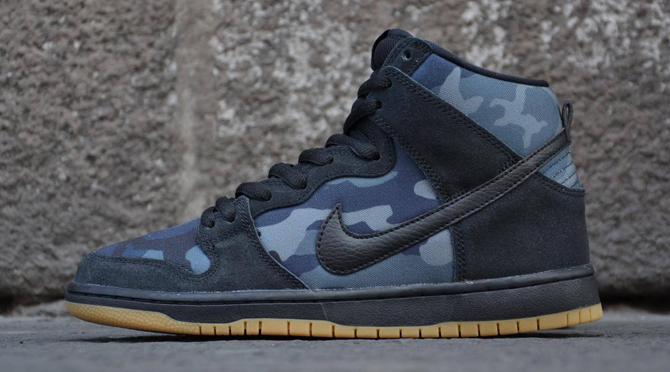 "finest selection f45a5 d8cd8 Nike SB Dunk High ""Obsidian Camo"""